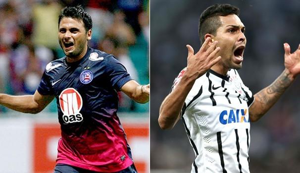 Futebol Bahia x Corinthians (Foto: Reprodução Globoesporte)