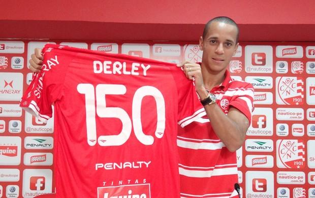 Derley - Náutico (Foto: Lula Moraes/GloboEsporte.com/PE)