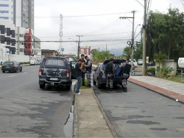 """Operação """"Entre Amigos"""". (Foto: Eliana Gorritti/ G1ES)"""