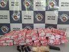 Casal é preso com drogas em ônibus na rodovia Castello Branco