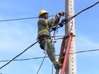 Fornecimento de energia elétrica será interrompido neste domingo
