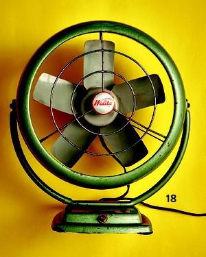 Ventilador de ferro, da Walita (Foto: Guto Seixas / Editora Globo)