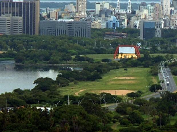 Chuva atinge Porto Alegre nos próximos dias (Foto: Reprodução/RBS TV)