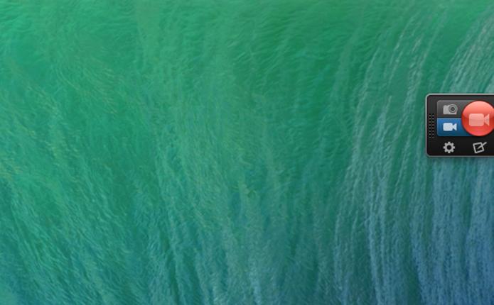 Interface de gravação do SnagIt no Mac OS (Foto: Reprodução/Marvin Costa)