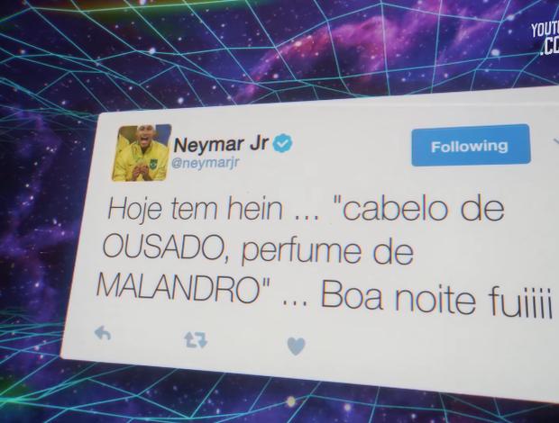 Neymar Twitter música