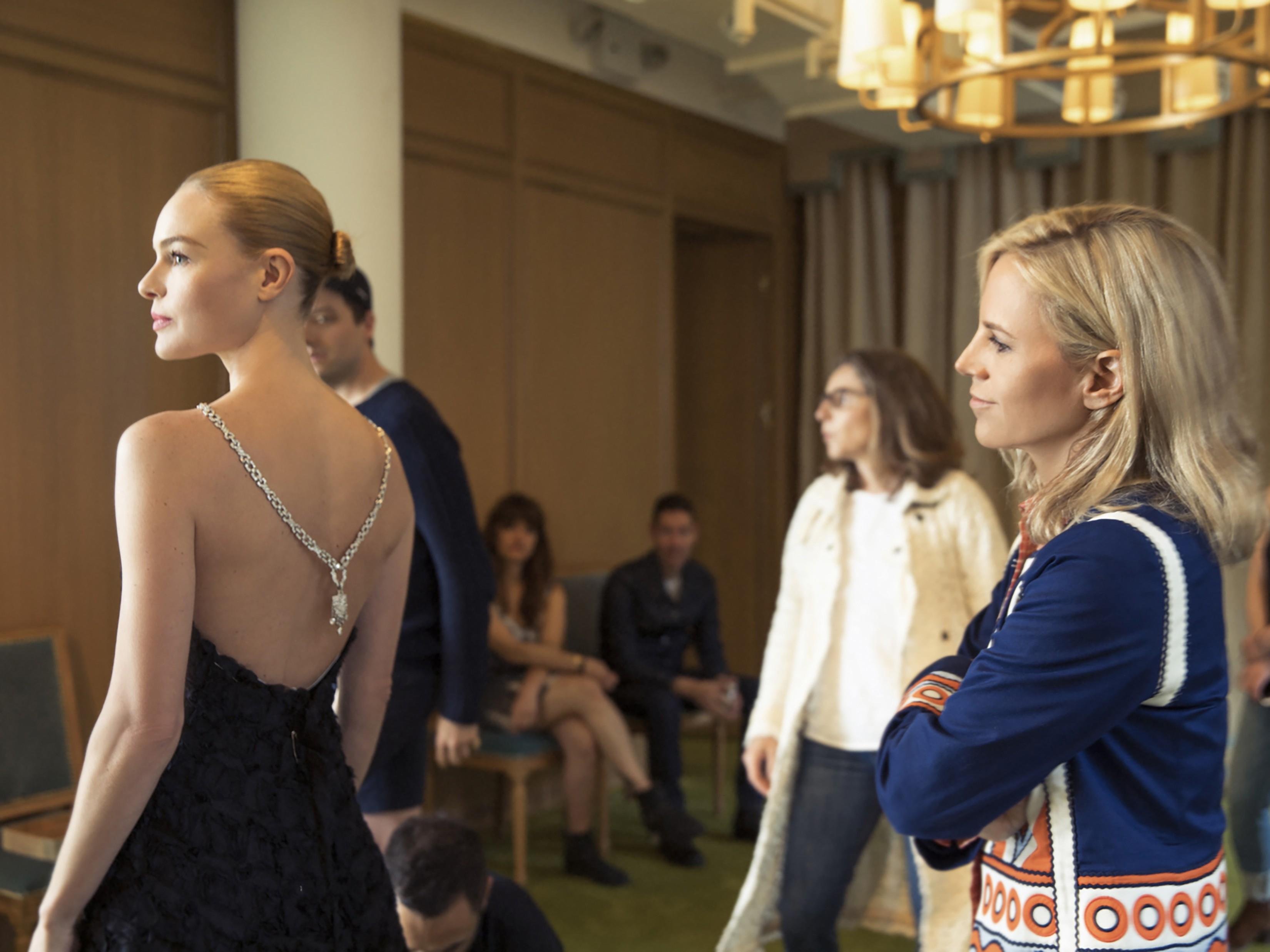 Kate Bosworth e Tory Burch (Foto: Divulgação)