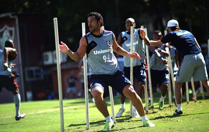 Treino Fluminense Fred (Foto: NELSON PEREZ/FLUMINENSE F.C.)