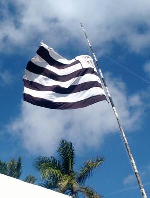 Ceará, bandeira, meio-mastro (Foto: Gabriel Bedê/Arquivo pessoa)