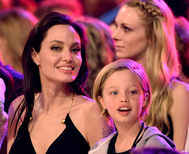 Angelina Jolie e Shiloh Nouvel Jolie-Pitt (Foto: Getty Images)