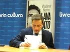 Jornalista Vladimir Netto lança livro sobre operação Lava Jato em Brasília