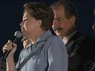 Em porta de fábrica de SP, Dilma promete 'crescimento com emprego'