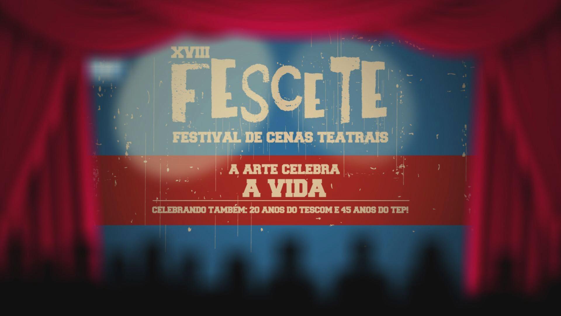 XVIII FESCETE; Festival de cenas teatrais de Santos (Foto: Reprodução / TV Tribuna)