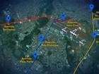 Veja como chegar ao novo terminal do Aeroporto Santa Genoveva