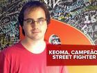 Keoma, campeão brasileiro de 'Street Fighter IV', fica em 7º na Capcom Cup