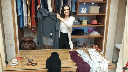 'É de Casa' ensina como fazer roupas criativas com um casaco para outono-inverno