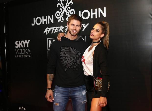 Jonas Sulzbach e Mari Gonzalez (Foto: Iwi Onodera e Manuela Scarpa/Brazil News)