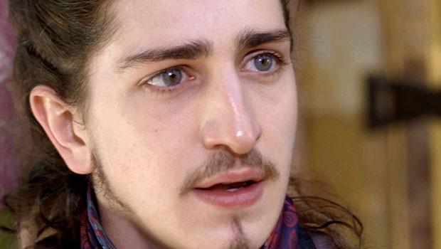 Nando fala olho no olho (Foto: Meu Pedacinho de Chão/TV Globo)