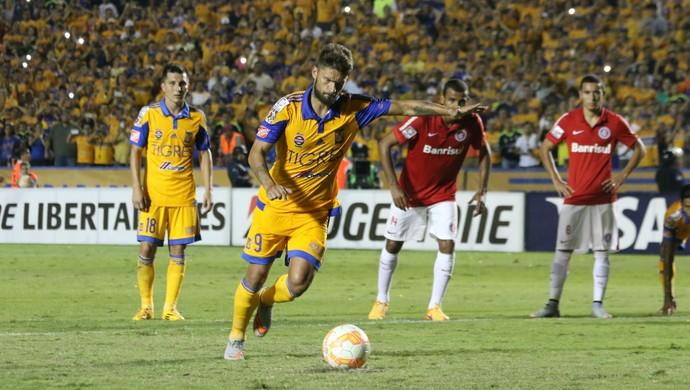 Inter Tigres Libertadores Beira-Rio Rafael Sobis (Foto: Diego Guichard/GloboEsporte.com)
