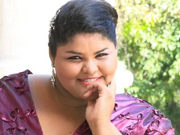 Mãe de Aliane Sousa já sonhava com os palcos desde a gravidez da filha. (Foto: Divulgação)
