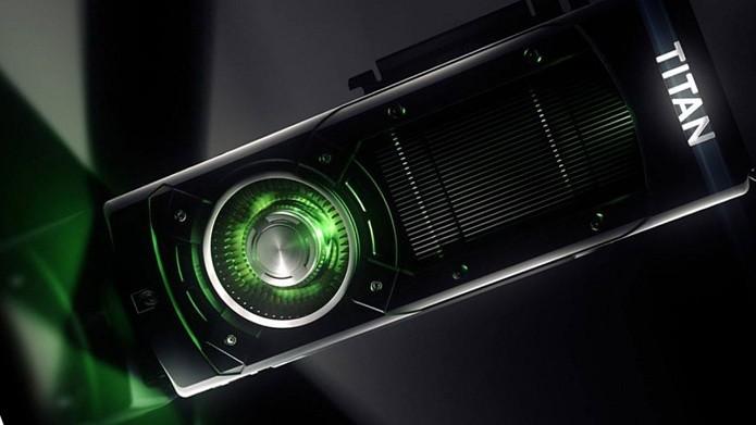 GTX Titan X é uma das placas de vídeo mais poderosas do mundo (Foto: Divulgação/Nvidia)