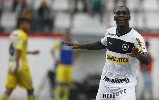 Seedorf comemora, Madureira x Botafogo (Foto: Alexandre Brum/Agência Estado)