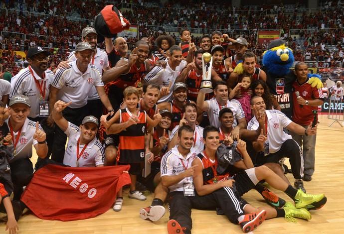 flamengo x pinheiros FINAL FOUR BASQUETE  campeão (Foto: André Durão)