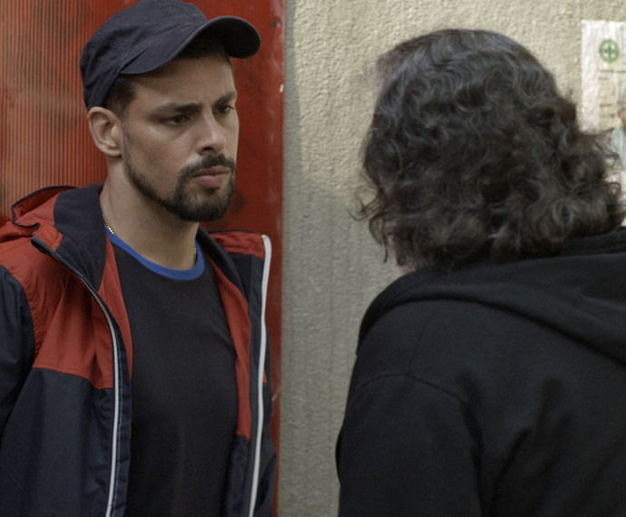 Será que Juliano vai conseguir colocar Zé atrás das grades? (Foto: TV Globo)