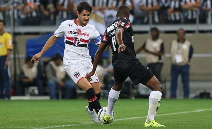 Atlético-MG x São Paulo Pato (Foto: Rubens Chiri/Perspectiva/Estadão Conteúdo)