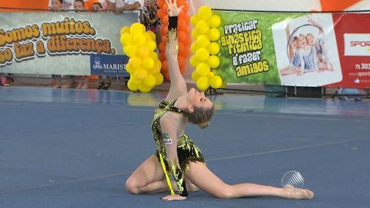 Ginasta Natalia Gaudio vence eleição de melhor atleta capixaba de 2015