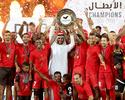 Al Ahli encerra temporada com dois gols brasileiros e festa pelo título