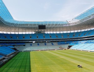 O Grêmio inaugura a Arena em 8 de dezembro, com shows e o amistoso com o Hamburgo, da Alemanha. (Foto: Diego Guichard / GLOBOESPORTE.COM)