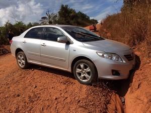 Homem perdeu a direção do veículo após sofrer um infarto (Foto: 190 Online/ Reprodução)