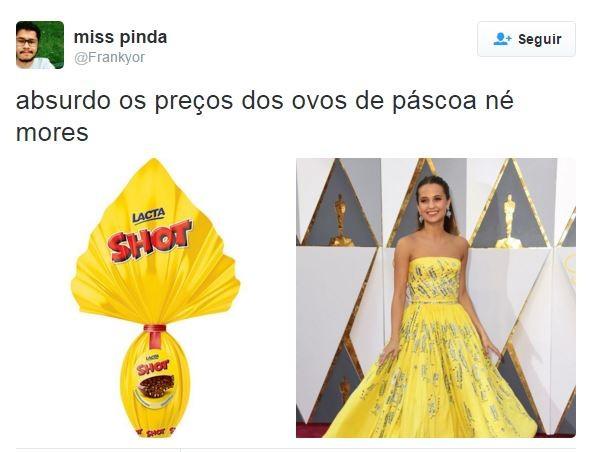 Oscar 2016 (Foto: Reprodução/Twitter)
