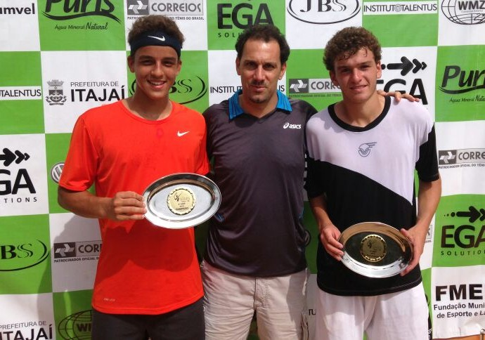 Tenista Gustavo, 16 anos, é campeão do Cnip e ganha chance em chave profissional (Foto: Gustavo Cruz / Cedida)