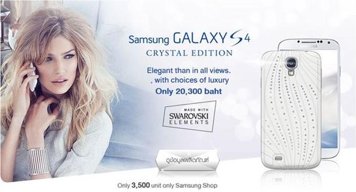 Versão de luxo do Galaxy S4 está à venda apenas na Tailândia (Foto: Divulgação / Samsung)