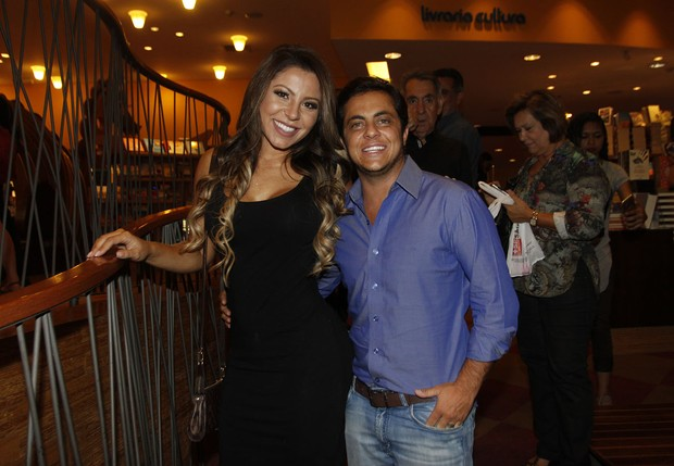 Andressa Ferreira e Thammy Miranda  (Foto: Celso Tavares / Ego)