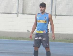Henrique Botafogo Treino (Foto: globoesporte.com)