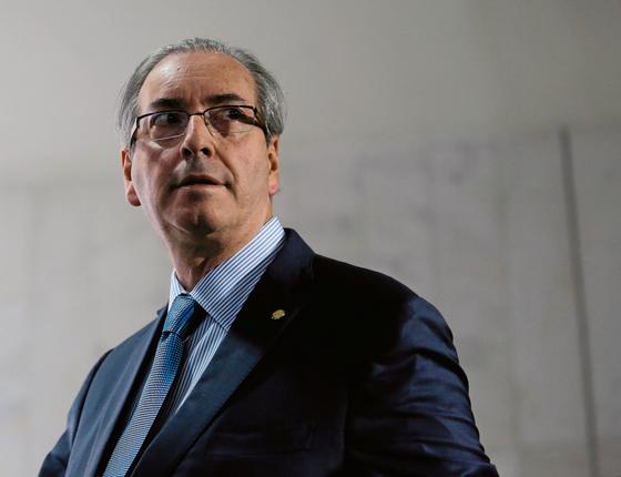 O ex-deputado Eduardo Cunha (Foto:  ANDRESSA ANHOLETE/AFP)