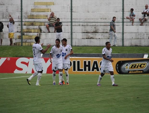 Felipe Alves, do ABC, marcou o primeiro gol da Taça Ecohouse (Foto: Gabriel Peres/Divulgação)
