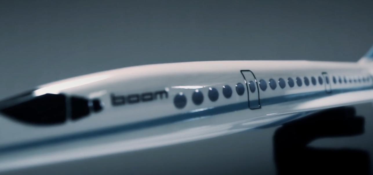 Inspirados no Concorde, os aviões da Boom serão mais leves, mais rápidos e mais baratos (Foto: Divulgação)