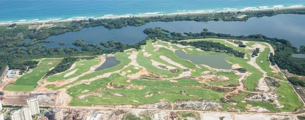 Campo de golfe dos Jogos do Rio 2016 (Foto: Renato Sette Câmara / Prefeitura do Rio)