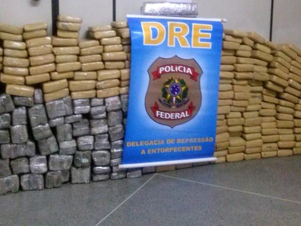 Polícia Federal apreende meia tonelada de maconha em Simão Dias (Foto: Polícia Federal / Divulgação)