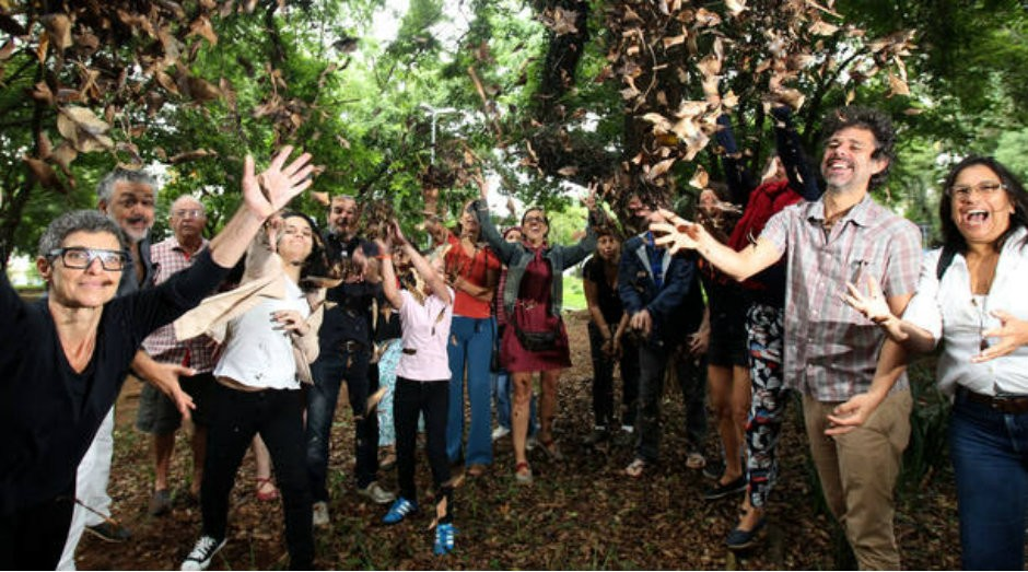 Moradores do Ecobairro, iniciativa de um grupo de moradores da zona oeste paulistana (Foto: Reprodução/Estadão)