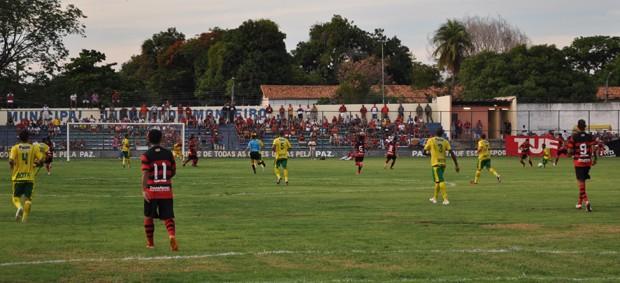 Flamengo e Picos, primeira rodada do Piauiense (Foto: Renan Morais)