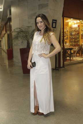 Fernanda Vasconcellos (Foto: Anderson Barros/EGO)