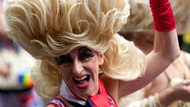 Parada Gay em Londres (Foto: AFP)