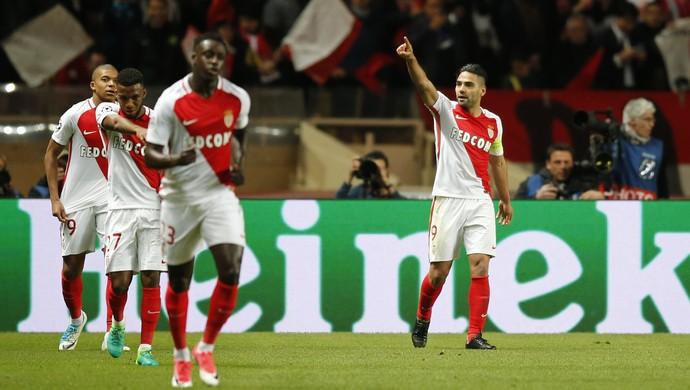 Falcao García Monaco Borussia Dortmund Liga dos Campeões (Foto: Jean-Paul Pelissier/Reuters)