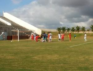 Globo FC x Palmeira de Goianinha SUB-19 Campeonato Potiguar Estádio Barretão (Foto: Reprodução/Instagram)