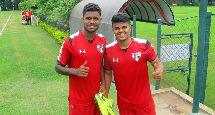 Matheus Reis e João Paulo São Paulo (Foto: Marcelo Prado)