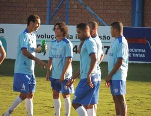 Treino Avaí Ressacada Alex Reinaldo (Foto: Marcelo Silva)